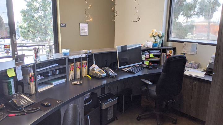 front working area – Buy Dental Practice